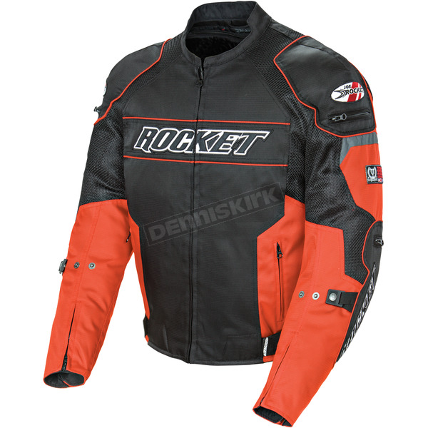 Joe Rocket Black/Orange Resistor Mesh Jacket - 1460-1502