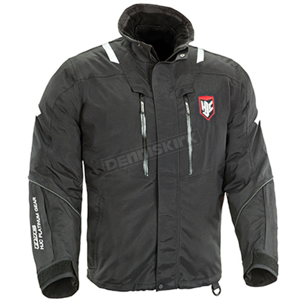 HJC Black/White/Red Extreme Platinum Snowmobile Jacket  - 1403-063