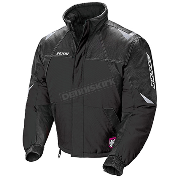 HJC Womens Black/Silver Storm Snowmobile Jacket  - 1407-064