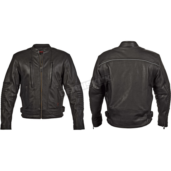 Milwaukee Motorcycle Clothing Co. Black Soiux Falls Jacket - M5096XXXL