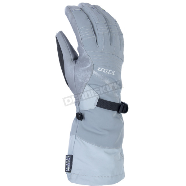 Klim Womens Gray Allure Gloves - 4087-001-150-600