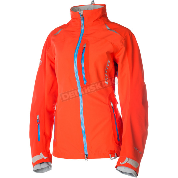 Klim Womens Hot Coral Alpine Parka - 4088-001-150-700