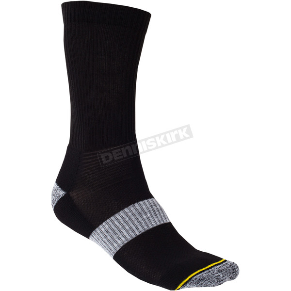 Klim Black Crew Sock - 6001-001-130-000