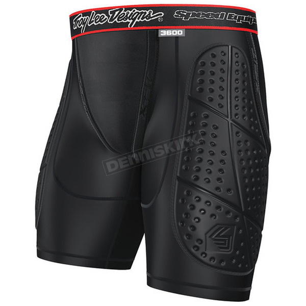 Troy Lee Designs Black 3600 Protection Short  - 520003206