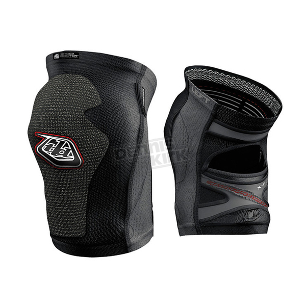 Troy Lee Designs Black 5400 Short Knee Guards - 527003204