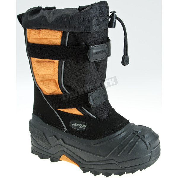 Baffin Youth Black/Orange Eiger Boots - EPIC-BAK-1
