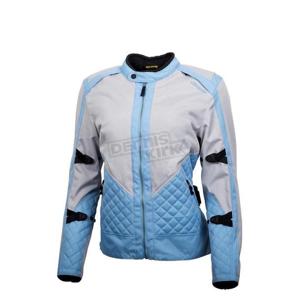 Scorpion Womens Gray/Blue Dominion Jacket - 51206-4