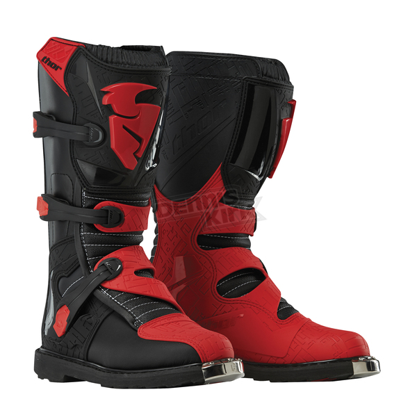 Thor Black/Red Blitz CE Boots - 3410-1466