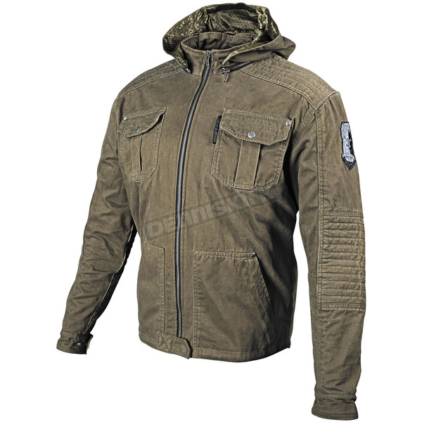 Speed and Strength Olive Dogs of War Textile Jacket - 87-8060