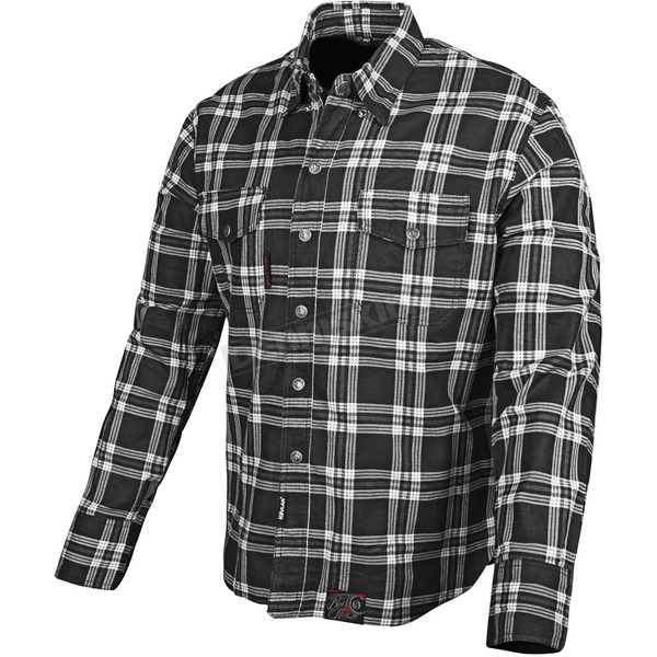 Speed and Strength Black Nine Reinforced Moto Shirt - 87-8045