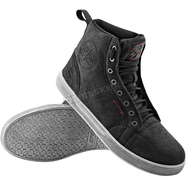 Speed and Strength Black Nine Moto Shoes - 87-7861