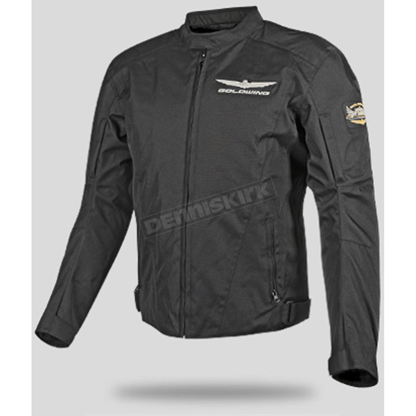 Honda Black Goldwing Touring Jacket - 54-9472