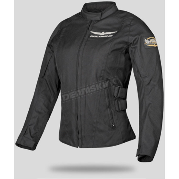 Honda Womens Black Goldwing Touring Jacket - 54-9484