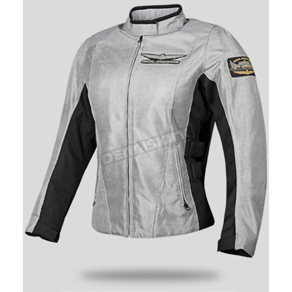 Honda Womens Gray Mesh Goldwing Touring Jacket - 54-9514
