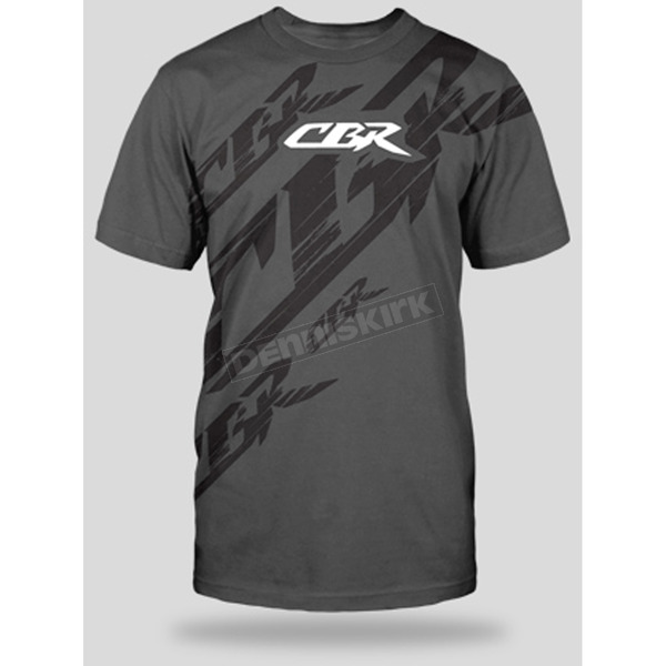 Honda Charcoal CBR Slash T-Shirt - 54-7229