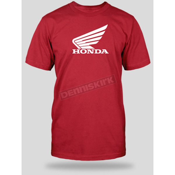Honda Red Big Wing T-Shirt - 54-7221