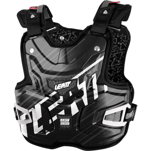 Leatt Black Shox Adventure Lite Chest Protector - 5015300120