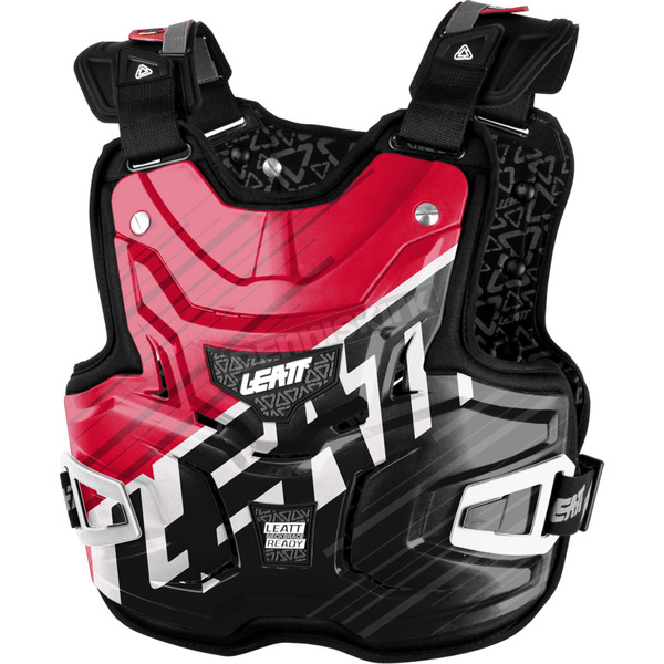 Leatt Red/Black Shox Adventure Lite Chest Protector - 5015300123