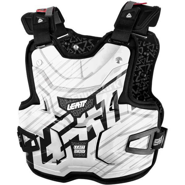 Leatt White Shox Adventure Lite Chest Protector - 5015300124