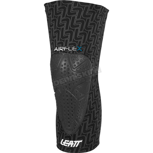 Leatt Black 3DF Airflex Knee Guards - 5015400412