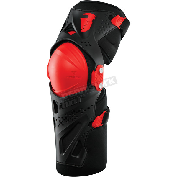 Thor Red Force XP Knee Guards - 2704-0363