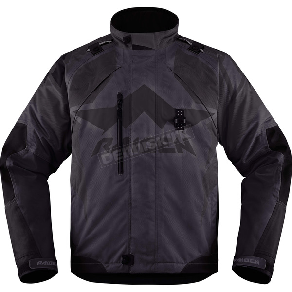 Icon - Raiden Black DKR Jacket - 2820-3289