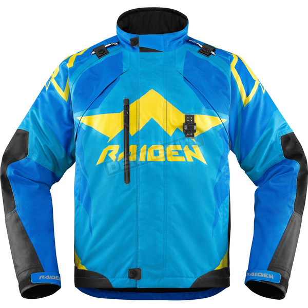 Icon - Raiden Blue DKR Jacket - 2820-3315