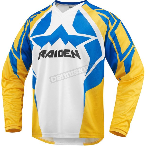 Icon Turquoise/Yellow Raiden Arakis Jersey - 2910-3406