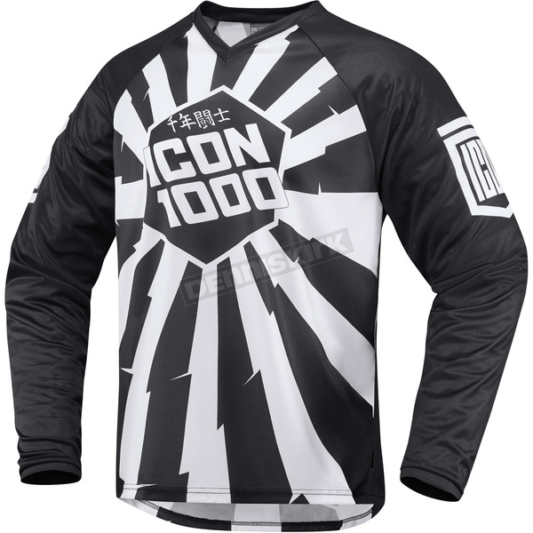 Icon Black/White Jackknife Jersey - 2910-3430