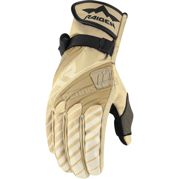 Icon - Raiden Tan DKR Gloves - 3301-2474