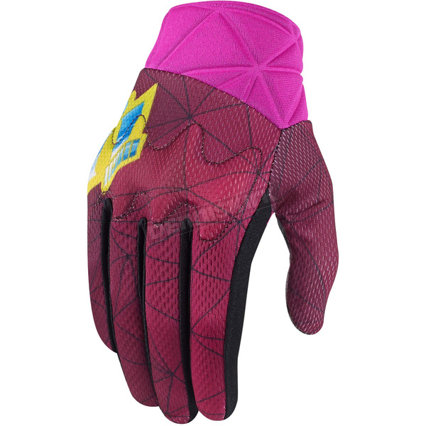 Icon Womens Pink Anthem Blender Gloves - 3302-0444