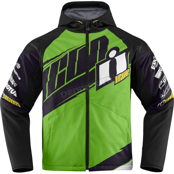 Icon Green/Black Team Merc Jacket - 2820-3332