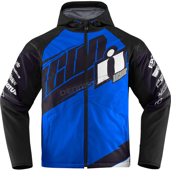 Icon Blue/Black Team Merc Jacket - 2820-3325
