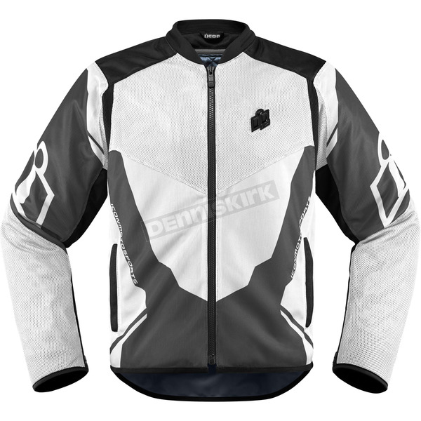 Icon White/Gray Anthem 2 Jacket - 2820-3369