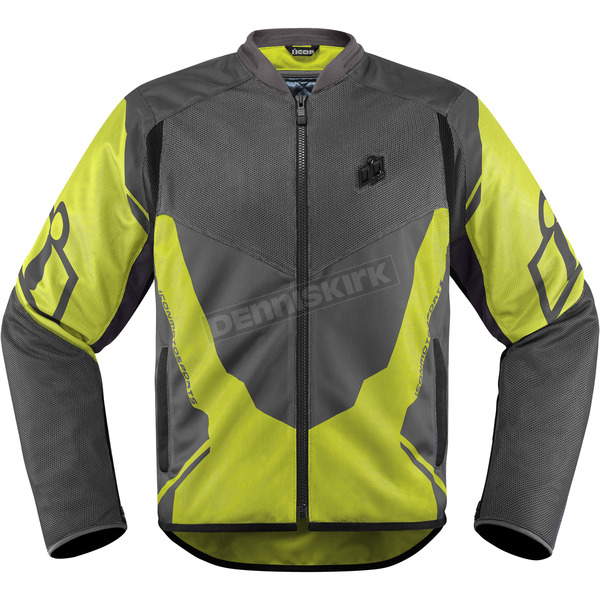 Icon Hi Viz/Gray Anthem 2 Jacket - 2820-3388