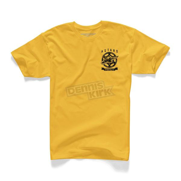 Alpinestars Yellow Protects T-Shirt - 10157200150XL