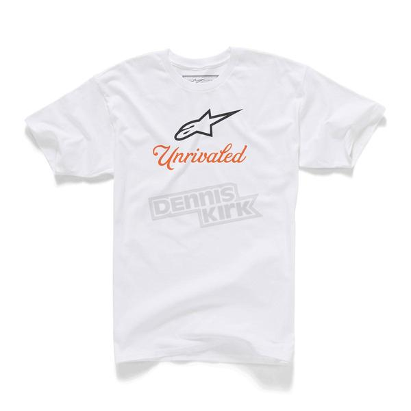 Alpinestars White Unrivaled T-Shirt - 1015720100202X