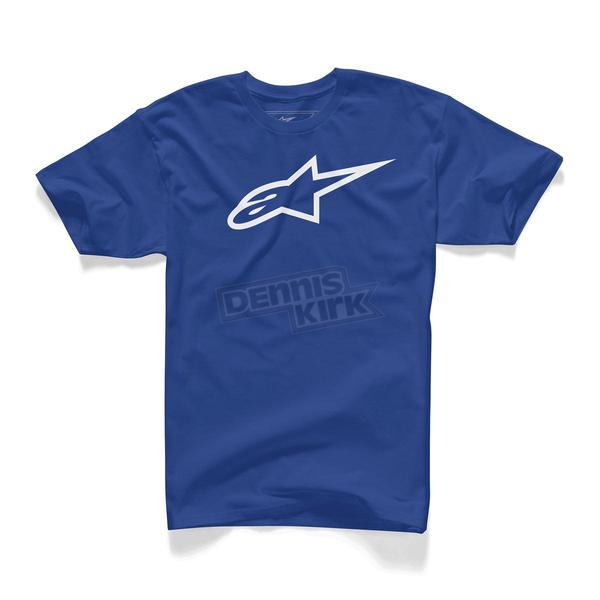 Alpinestars Royal Blue Ageless T-Shirt - 10327203010202X