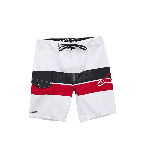 Alpinestars White Factory Boardshorts - 10152400402028