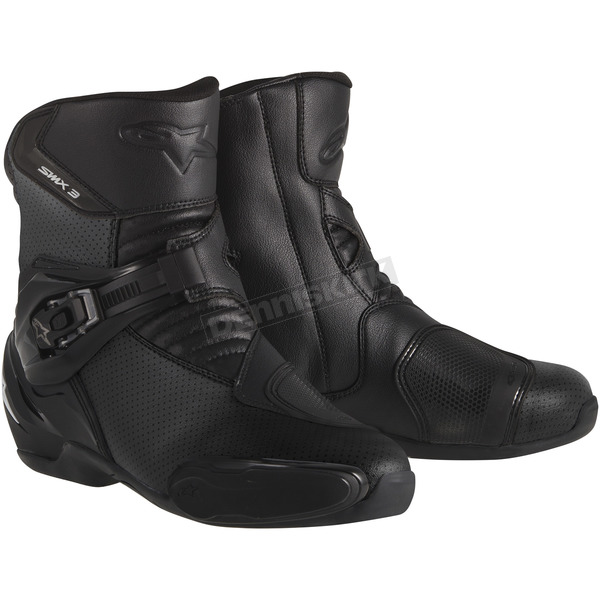 Alpinestars Black SMX-3 Vented Boots - 2224014-100-40