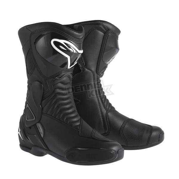 Alpinestars Womens Black Stella SMX-6 Waterproof Boots - 2243115-10-36