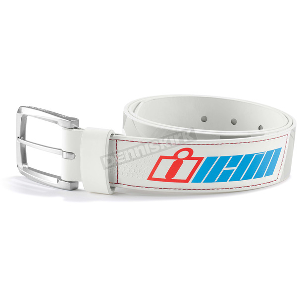 Icon White Double Stack Belt - 3070-0895