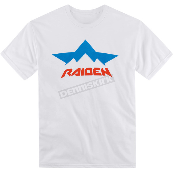 Icon White Raiden Strobe T-Shirt - 3030-11738
