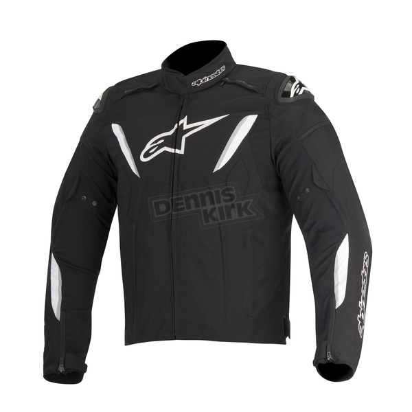 Alpinestars Black/White T-GP R Waterproof Jacket - 3205515-12-M