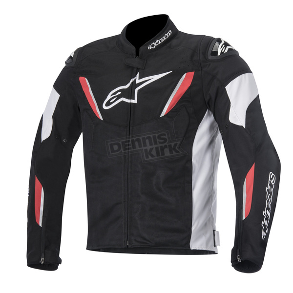Alpinestars Black/White/Red T-GP R Air Jacket - 3305616-123-3XL