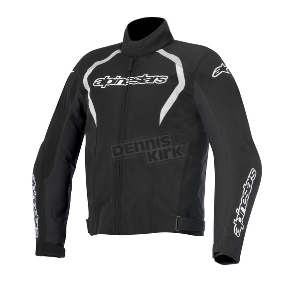 Alpinestars Black/White Fastback Waterproof Jacket - 3200015-12-XL