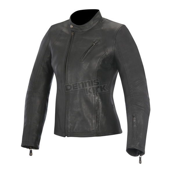 Alpinestars Womens Black Shelley Leather Jacket - 3118315-10-XS