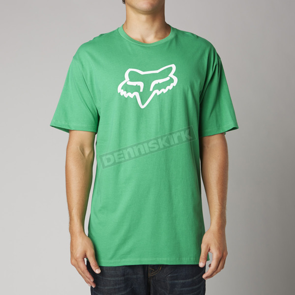 Fox Green Fox Head Premium T-Shirt - 14222-004-M