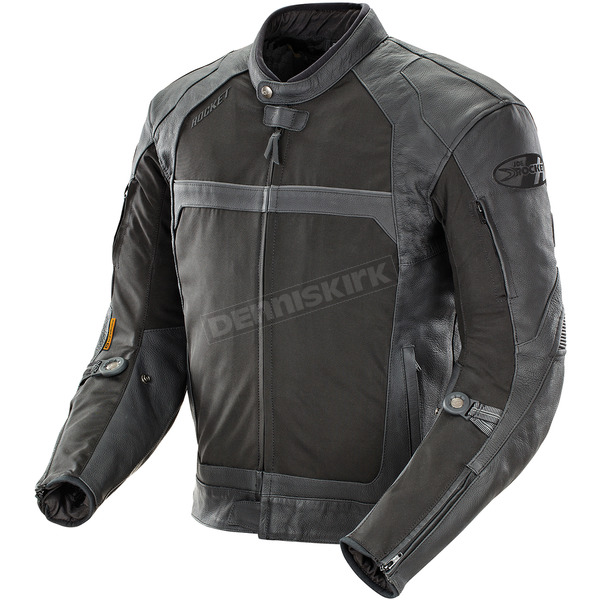 Joe Rocket Black Hybrid Syndicate Jacket - 1432-0050