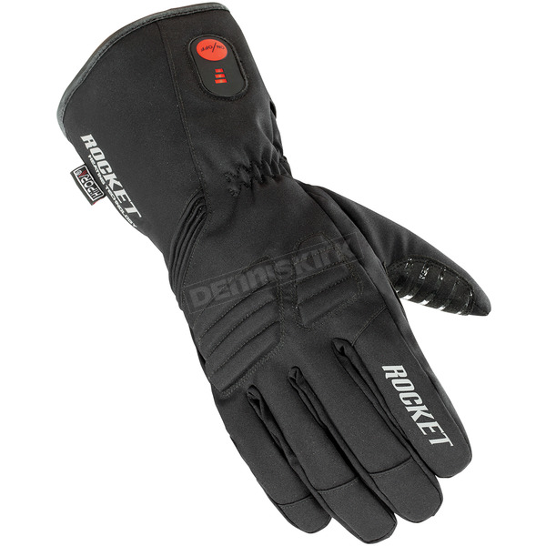 Joe Rocket Black Rocket Burner Heated Gloves - 1522-2006
